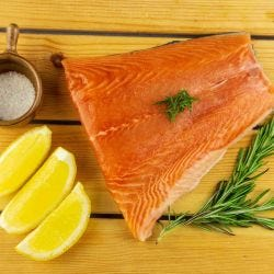 Fresh Ocean Trout Skin On Portions