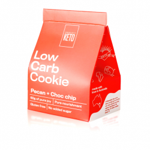Pecan & Choc Chip Cookie 60g