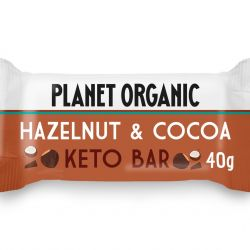 Organic Hazelnut & Cocoa Keto Bar