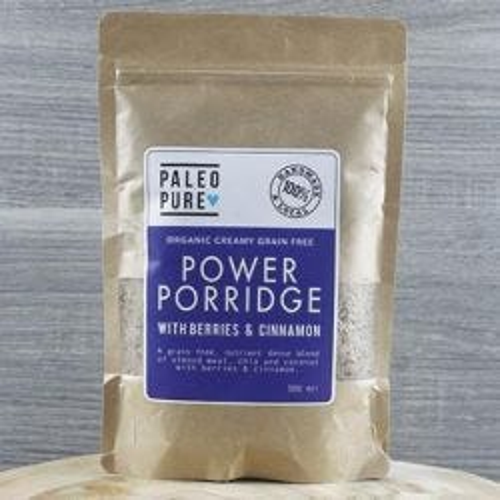 Berries & Cinnamon Power Porridge