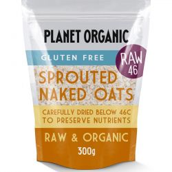 Organic Sprouted Rolled Naked Oats