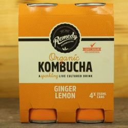 Ginger & Lemon Kombucha - Multipack