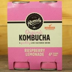 Raspberry Lemonade Kombucha - Multipack