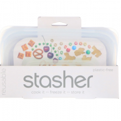Clear Snack Stasher