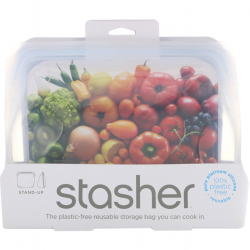 Clear Stand-Up Stasher