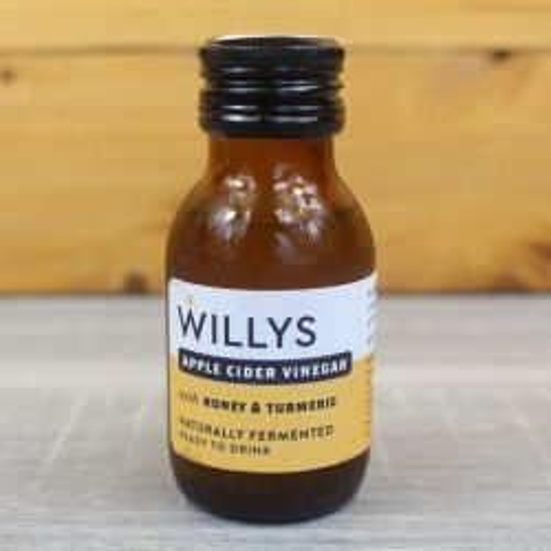 Turmeric Shot With Apple Cider Vinegar