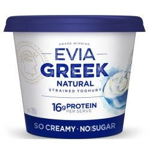Natural Greek Strained Yoghurt - No Added Sugar