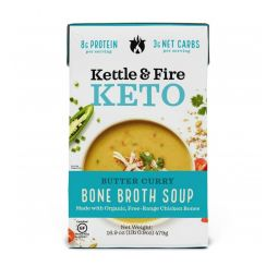 Butter Curry Keto Soup
